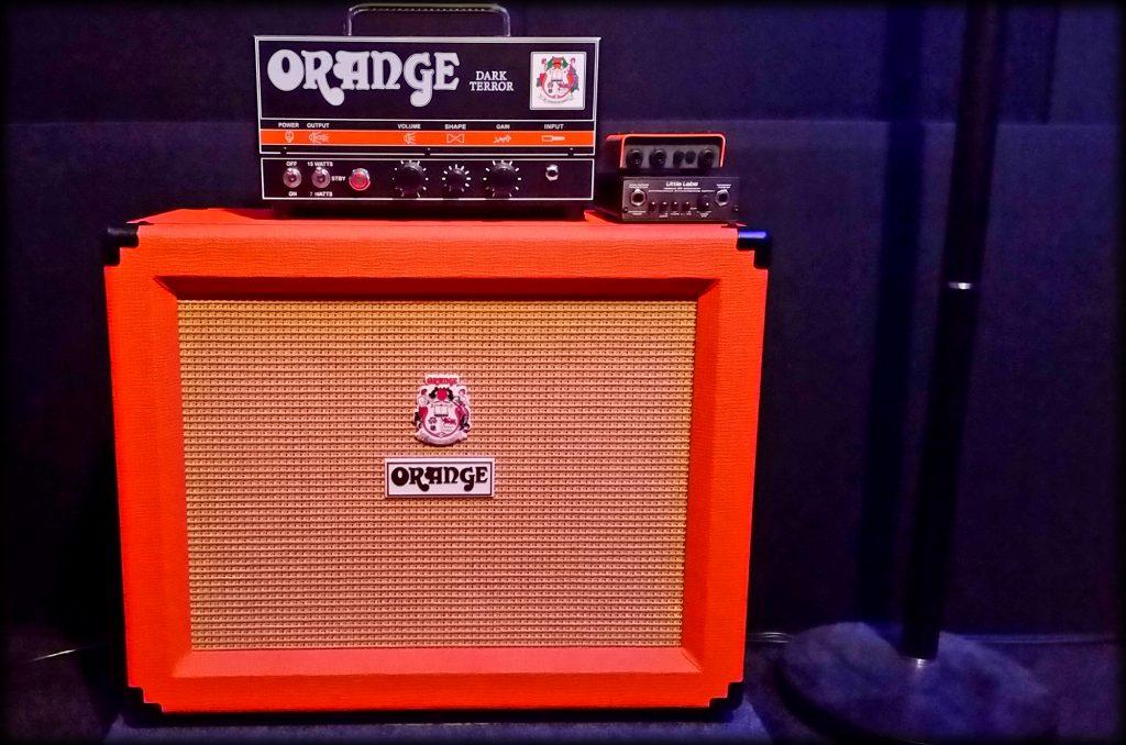 New Studio Amp - Orange Dark Terror