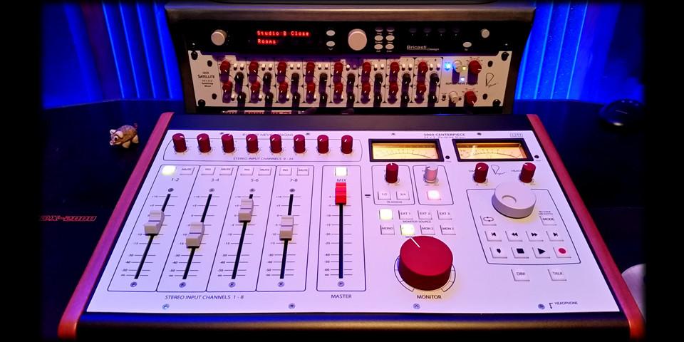 The heart of the studio - Neve 5060 summing mixer